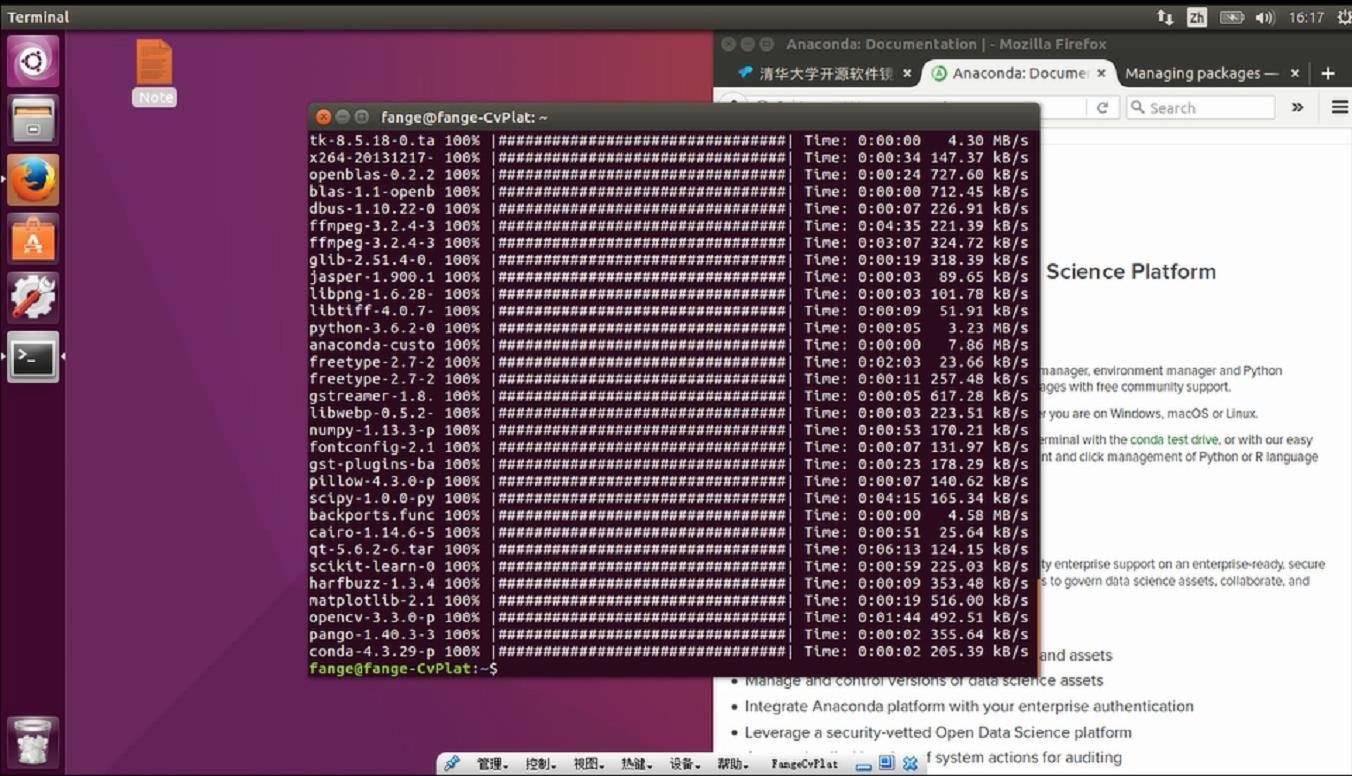 在Ubuntu下利用Anaconda安装python-opencv的过程_20180116225437